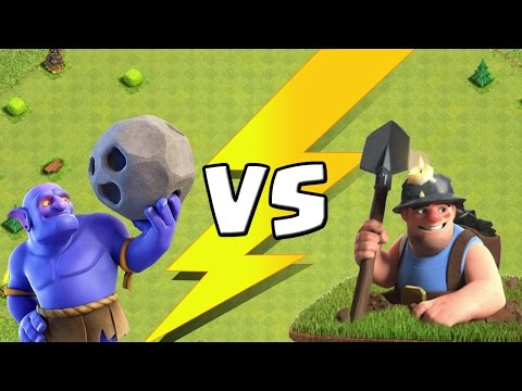 BOWLER vs. MINER! || CLASH OF CLANS || Let's Play CoC [Deutsch/German HD+]