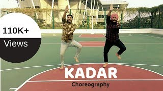 Kadar - ManKirt Aulakh   Choreography   Bhangra Fitness Classes Panchkula