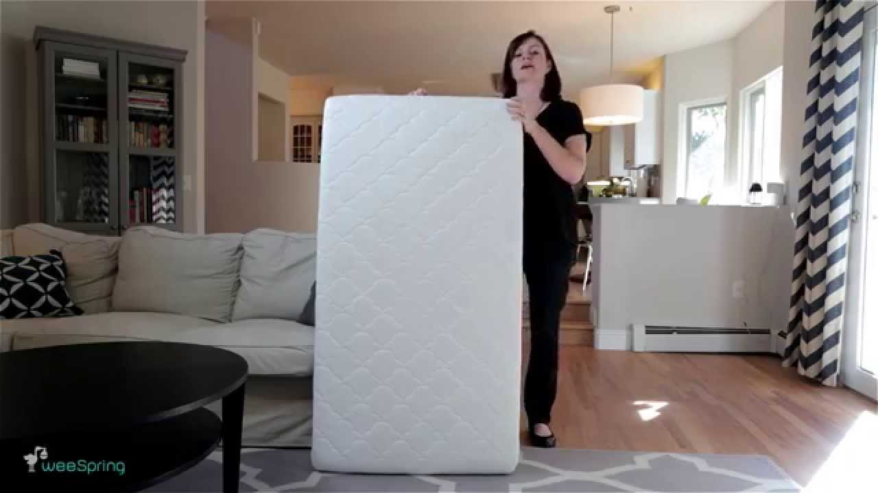 newton crib mattress video review from weespring youtube