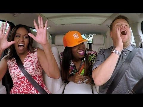 Michelle Obama RAPS With Missy Elliott In Epic Carpool Karaoke