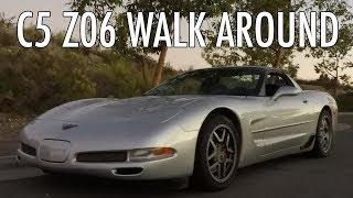 homepage tile video photo for 2002 C5 Corvette Z06 headsup display & walk around
