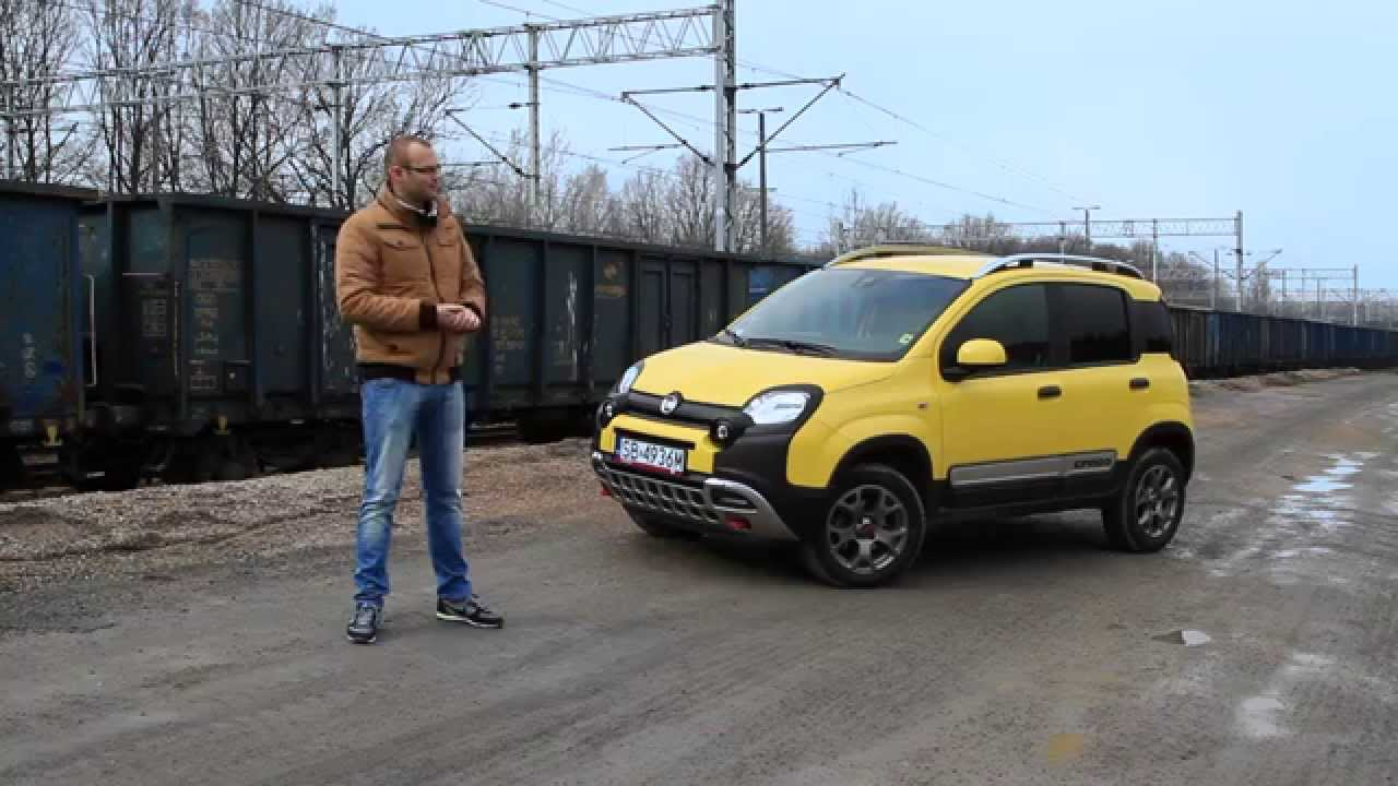 nowy fiat panda cross 4x4 1 3 multijet 2015 test pl. Black Bedroom Furniture Sets. Home Design Ideas