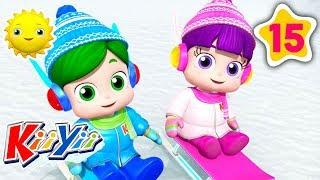 4 Seasons Song + Many More! | #NurseryRhymes | #KiiYii | Little Baby Morning