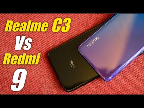Redmi 9 Vs Realme C3 - Which Should You Buy ?   Helio G80 vs G70