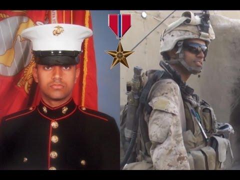 Marine Cpl. Gurpreet Singh - Bronze Star Recipient - YouTube