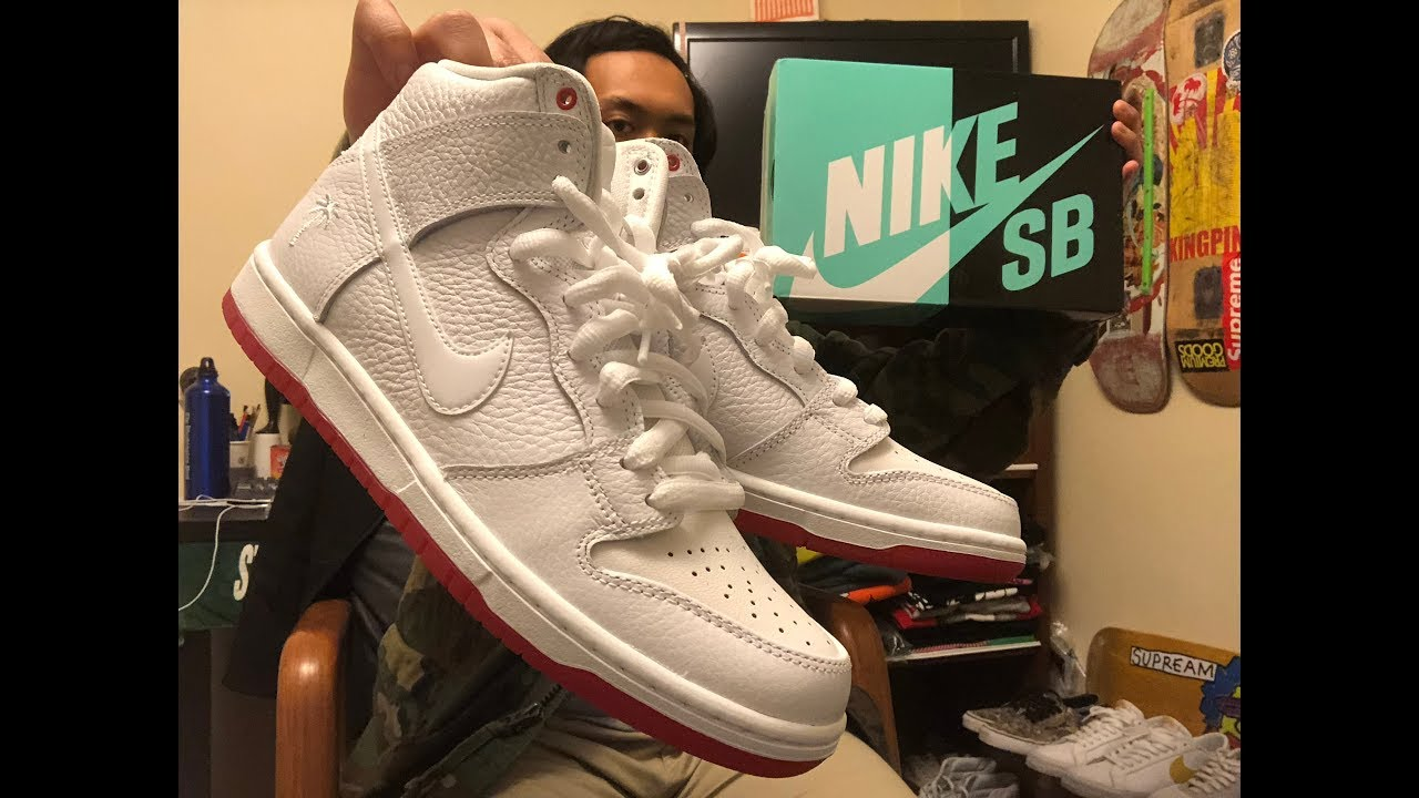 watch 2fb20 40ccb Nike SB Dunk High Kevin Bradleys Unboxing and On Feet + Skateboard