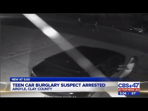 Jacksonville teen car burglary suspects arrested in Clay County