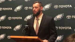 NFL Draft 2018: Eagles introduce Dallas Goedert