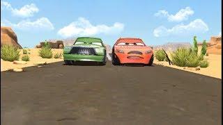 Playing Cars: Fast As Lightning-1-2-Racing Chick Hicks!