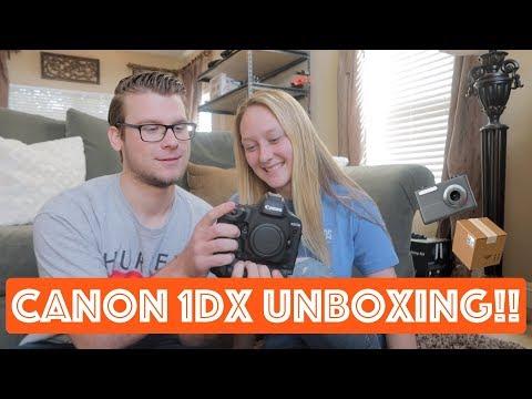 CANON 1DX UNBOXING!!