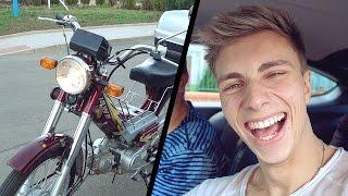 KOUPIL JSEM SI MOTORKU + ŘIDIČ NÁS CHTĚL ZBÍT! | VLOG #014