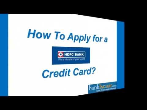 How To Apply For Hdfc Credit Card