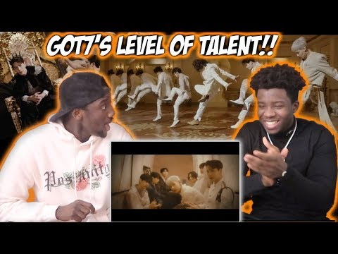 """GOT7 """"NOT BY THE MOON"""" M/V (REACTION)"""