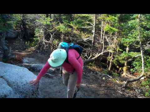 Climbing Mount Katahdin Via New Abol Trail