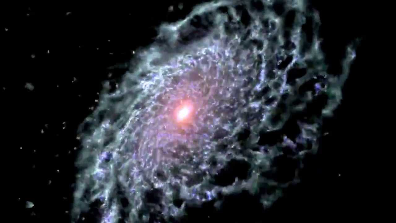OUR GALAXY FORMATION!!! - Milk Way Nasa Computer Generated ...
