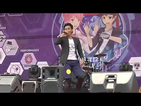 Ikki - Stand Up (LEAD cover ~ Karaoke) @ Jiyuu Matsuri UNJ 2017