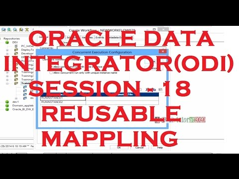 Reusable Mapping - Last Session - ODI - Oracle Data Integrator Tutorial - Session - 18