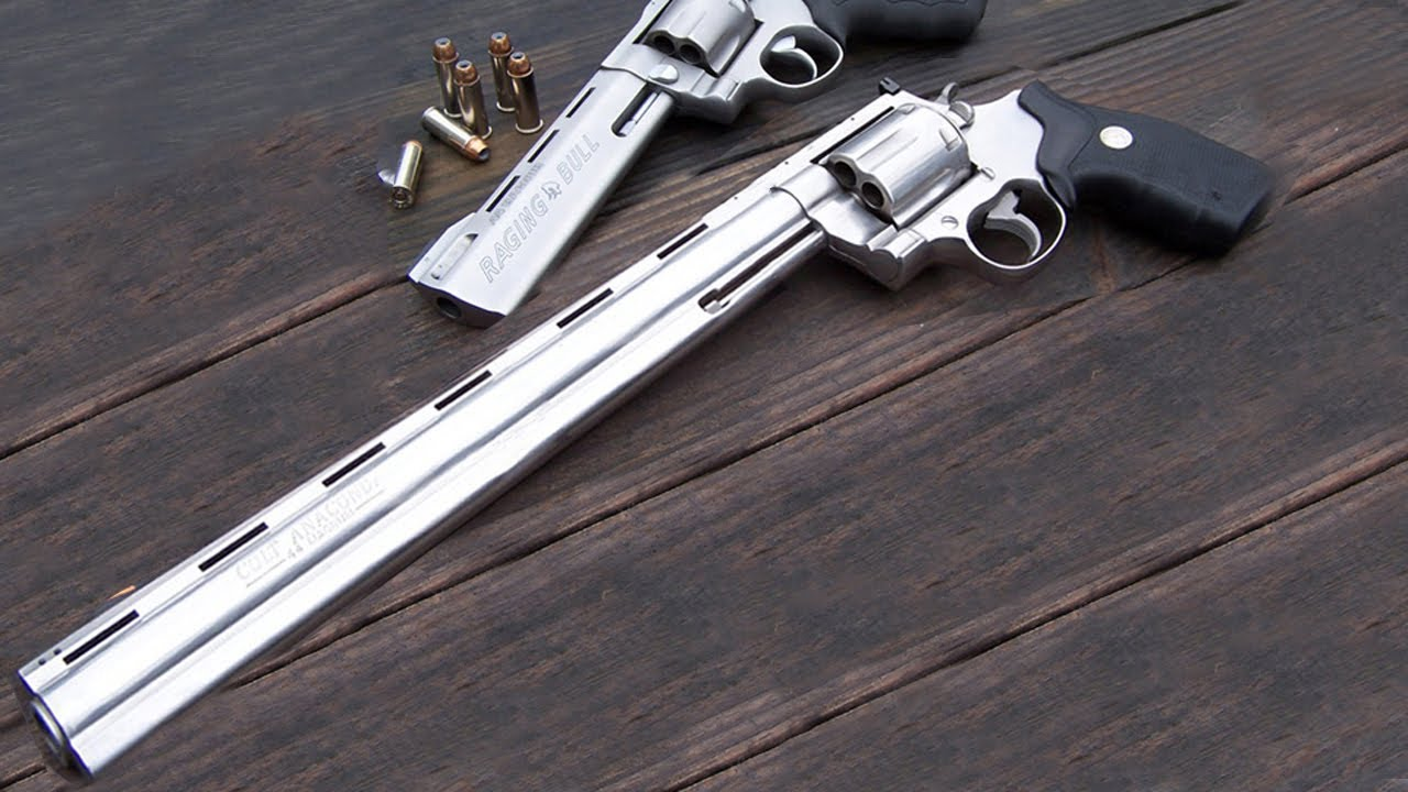 10 Längste Und Leistungsfähigste Revolver Der Welt! - YouTube
