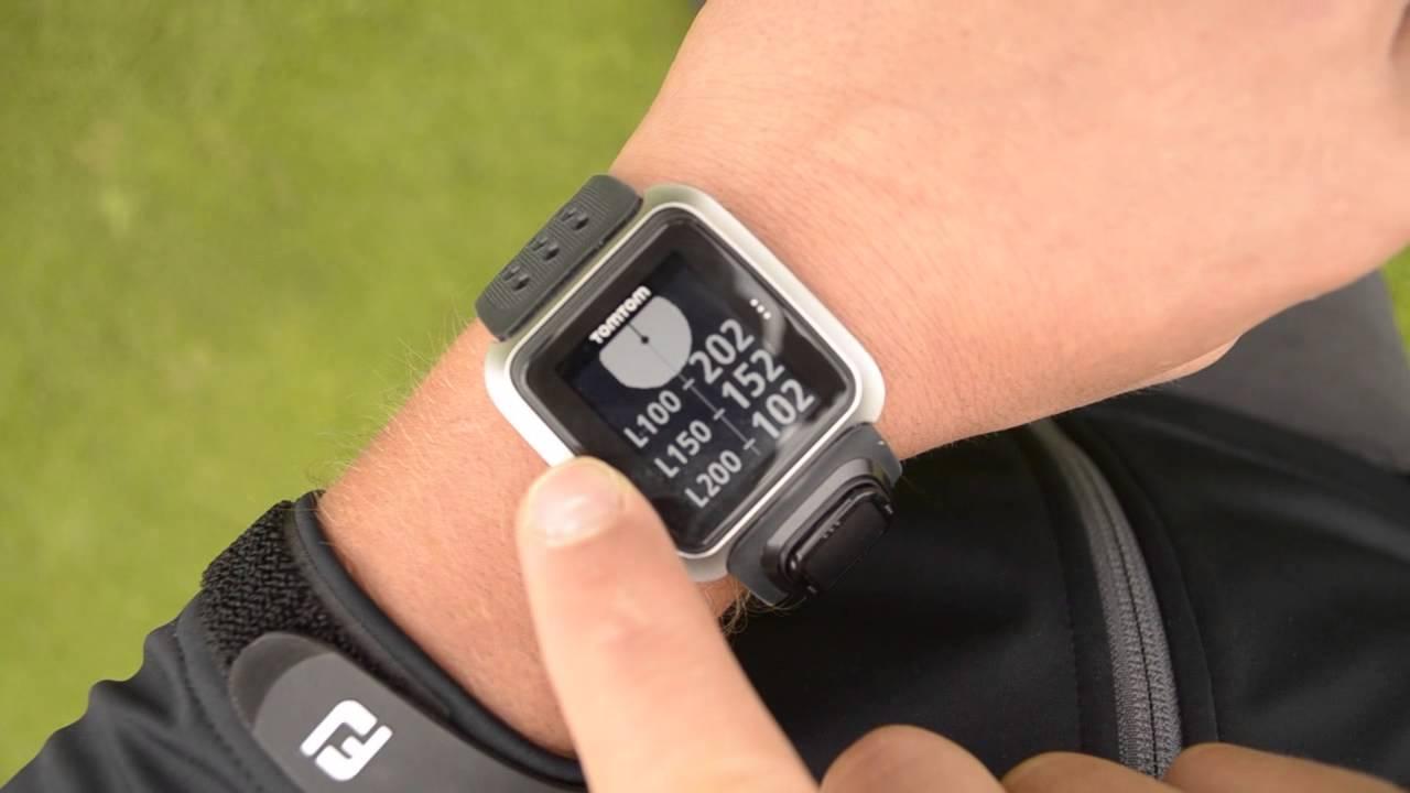 Golf Entfernungsmesser Tomtom : Erstkontakt tomtom golfer gps uhr youtube