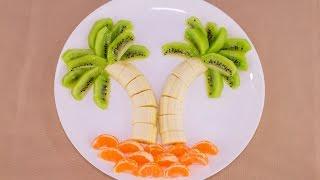 Простая фруктовая пальма