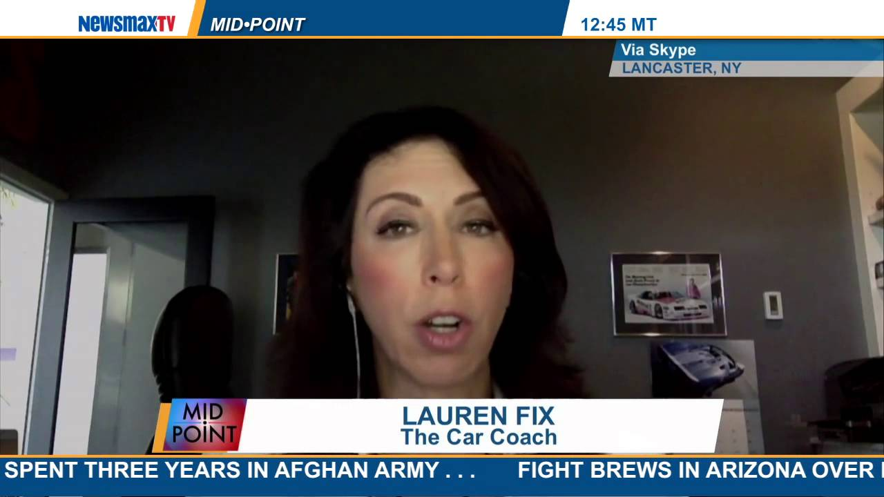 MidPoint | Lauren Fix to discuss the latest automotive news