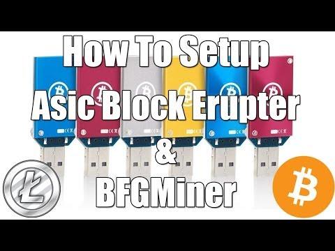 How To Setup An Asic Block Erupter For BFGMiner