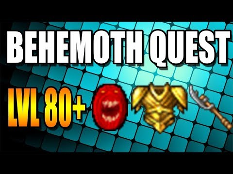Behemoth Quest | Lvl 80+ - Tibia (Guía ESP)