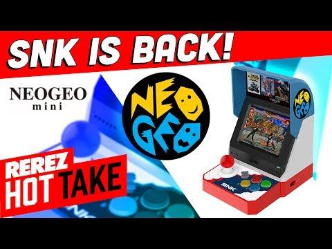 Neo Geo Mini Looks Awesome! - Hot Take Game News