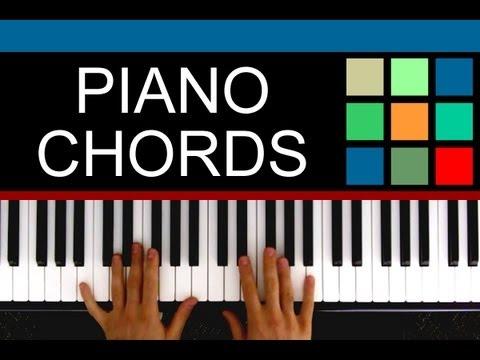 Piano piano chords major and minor : Play Piano: Major And Minor Chords - YouTube