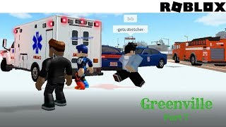 Roblox Greenville 7: Trying to get help from the police in Greenville