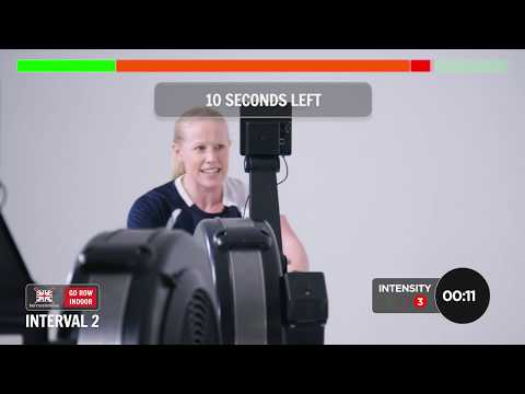 Go Row Indoor workout #4 – The pyramid workout