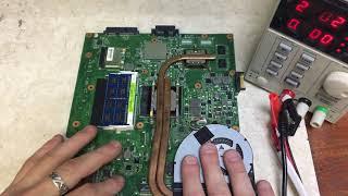 Ноутбук Asus K53S - диагностика и ремонт