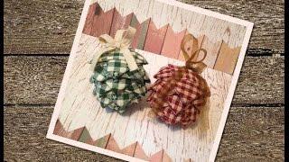 Diy No Sew Ornament | Diy Pinecone Ornament | Diy christmas Ornamrnt