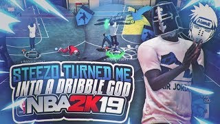 NBA2K19 BEST DRIBBLE MOVES STEEZO MADE ME A DRIBBLE GOD! BEST BUILD IN NBA 2K19