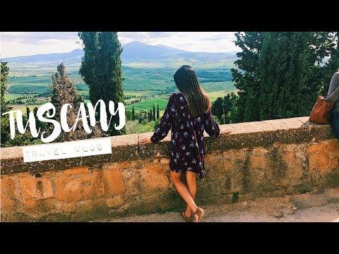 BEAUTIFUL ITALIAN COUNTRYSIDE // Tuscany Travel Vlog ♡