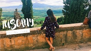 BEAUTIFUL ITALIAN COUNTRYSIDE Tuscany Travel Vlog