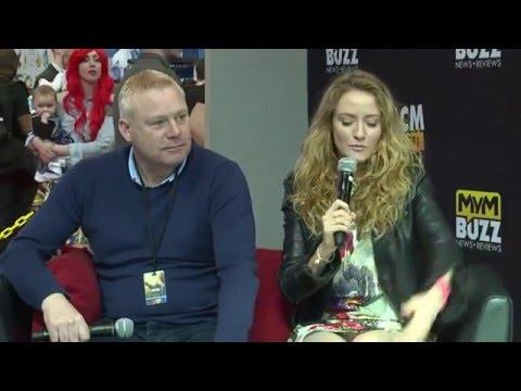 Thomas Craig & Helene Joy (Murdoch Mysteries) Interview Birmingham