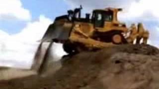 tractor sobre orugas D9T