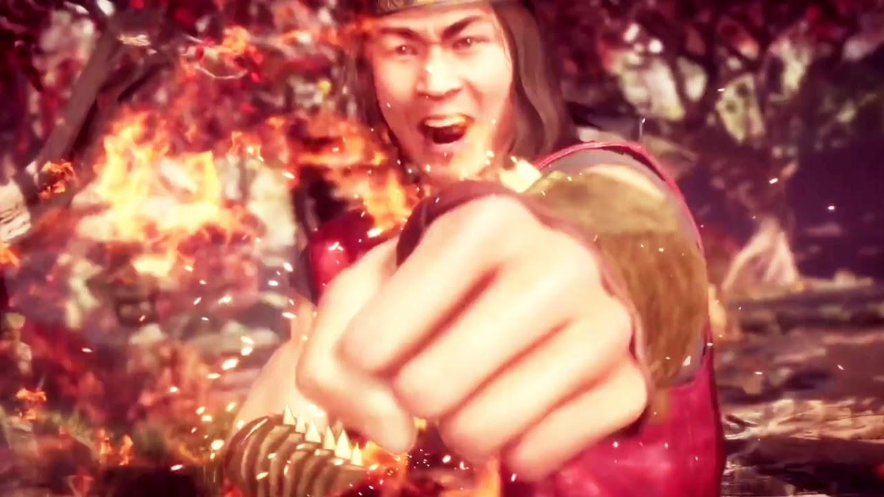 mk11 Johnny vs Liu Kang fandub