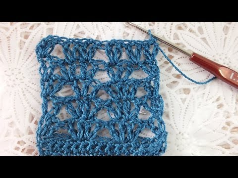УЗОРЫ КРЮЧКОМ АЖУР  просто и красиво crochet pattern