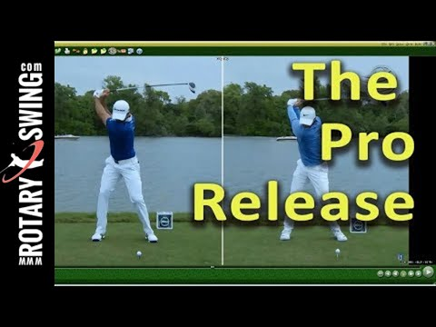HOW TO RELEASE THE GOLF CLUB LIKE THE PROS