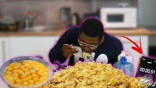 I ATE 100 EGGS IN ONE SITTING EGG CHALLENGE