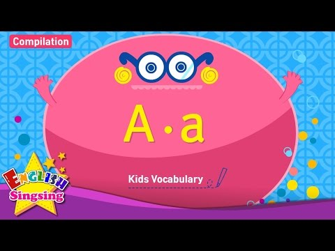 Kids vocabulary compilation - Words starting with A, a - Learn English for kids