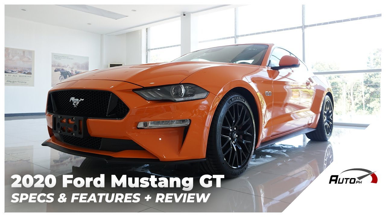 2020 Ford Mustang 5 0 Gt Premium Exterior Interior Review Philippines Youtube