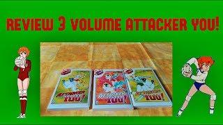 REVIEW MANGA: 3 E ULTIMO  VOLUME: ATTACKER YOU! (MILA E SHIRO)| SAILORMOONFANS