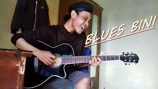 Pulang Kerja BLUES BINI SLANK Nge TES Gitar Akustik Ibanez Original