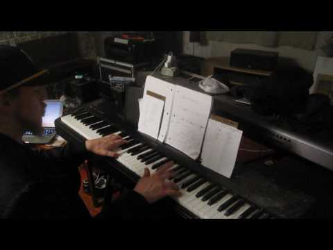 Logic Black Spider Man Piano Cover