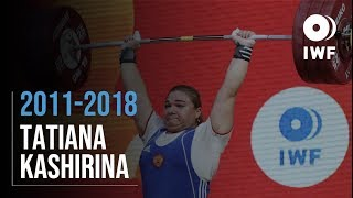 Tatiana Kashirina | 2011 - 2018 Clean & Jerk Progression