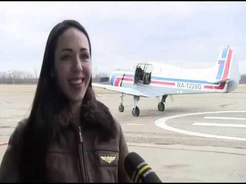 Девушки-летчицы. Краснодарское высшее военное авиационное училище