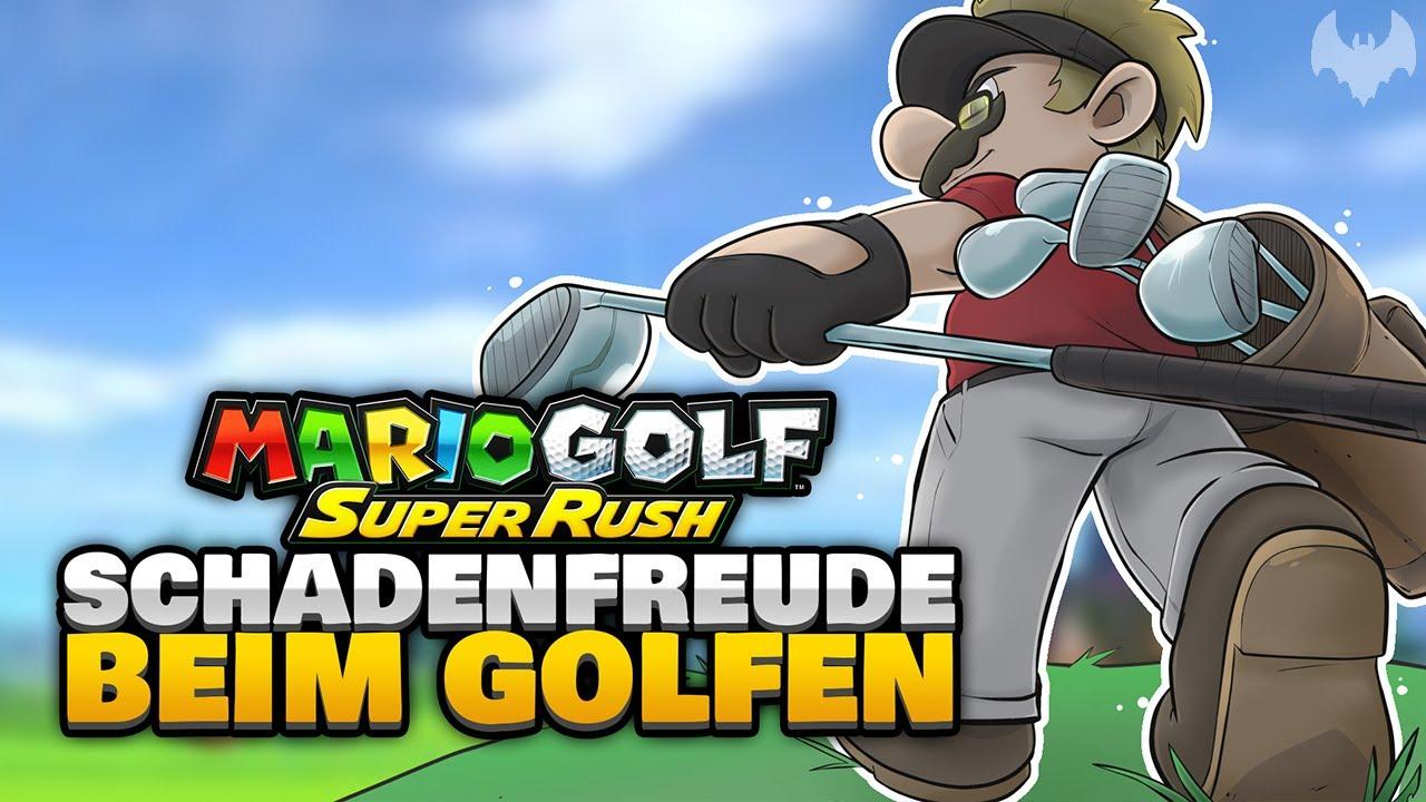 SCHADENFREUDE ist SUPER 🤣 - ♠ Mario Golf: Super Rush ♠